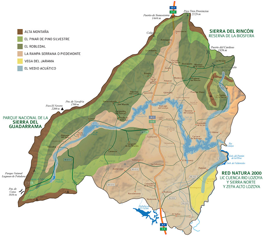 Mapa ornitología