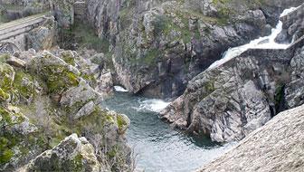 La sierra y el agua