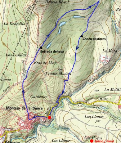 ruta-dehesa-boyal-montejo-mapa