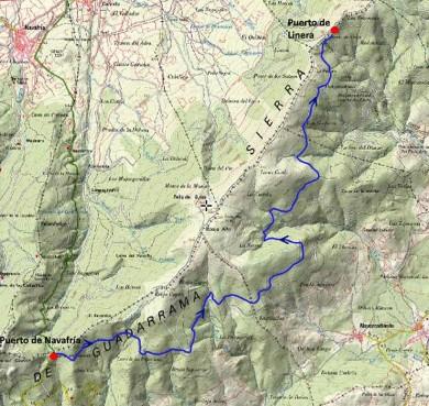 ruta-la-horizontal-mapa