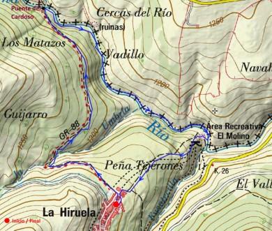 ruta-molino-molino-hiruela-mapa
