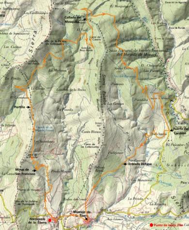 ruta-sierra-rincon-mapa