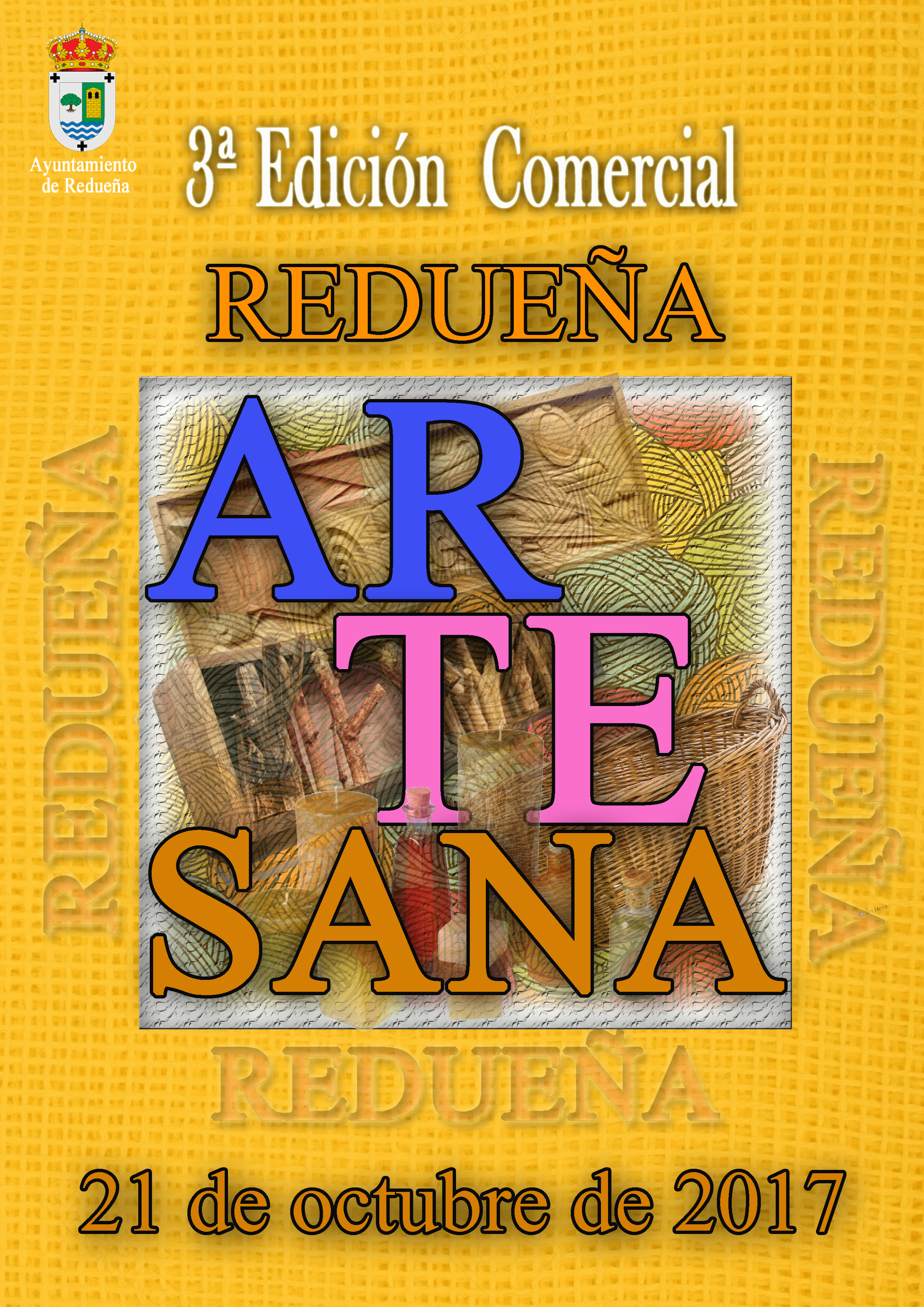 Cartel 3 Edicion Redueña Artesana 2017