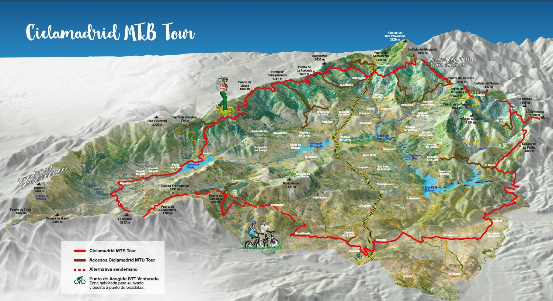 Sierra Norte De Madrid A Pedal Stroke Sierra Norte De Madrid