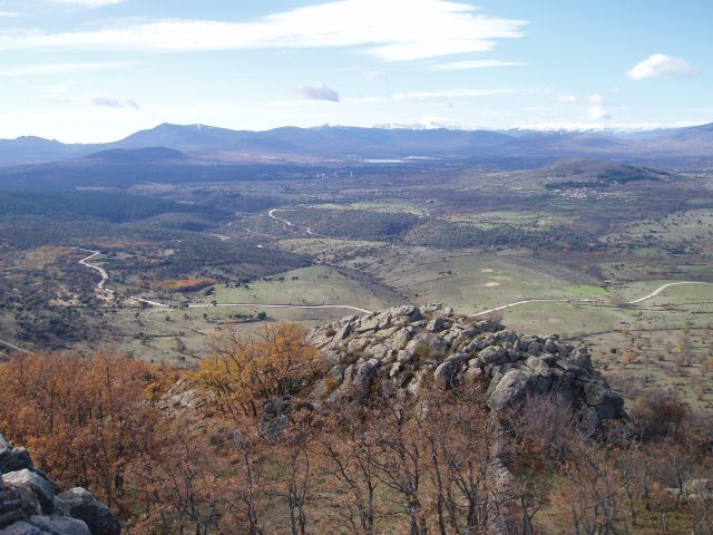 Alto Quiñones en otoño. Imagen cedida por Ayuntamiento de Madarcos