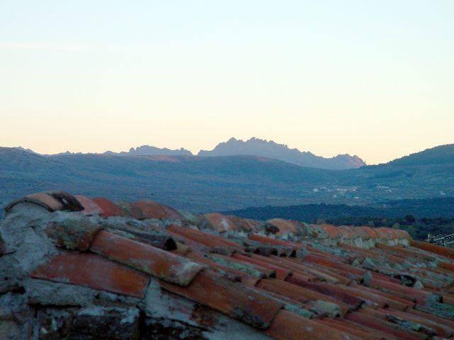 Vista panorámica de Villavieja del Lozoya.  Imagen de la Dirección General de Turismo, Consejería de Economía e Innovación Tecnológica, CAM