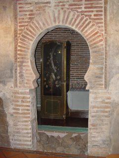 Detalle de arco en Villavieja del Lozoya.  Imagen de la Dirección General de Turismo, Consejería de Economía e Innovación Tecnológica, CAM