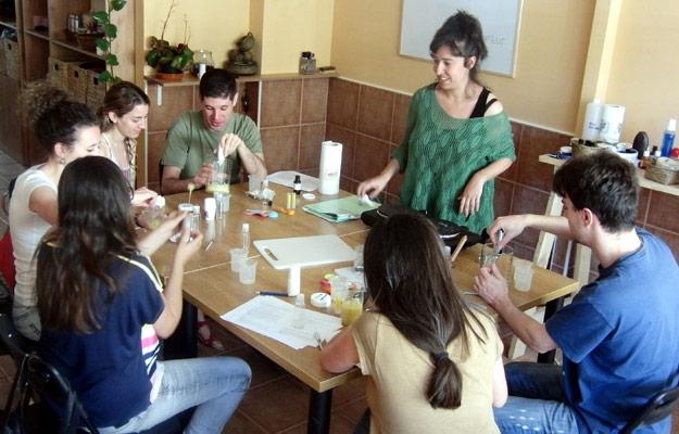 Course of natural cosmetics - Sierra Norte de Madrid