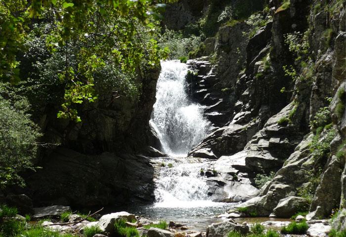cascadas en la sierra norte de madrid