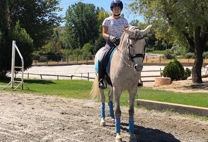 horseback riding in torrelaguna