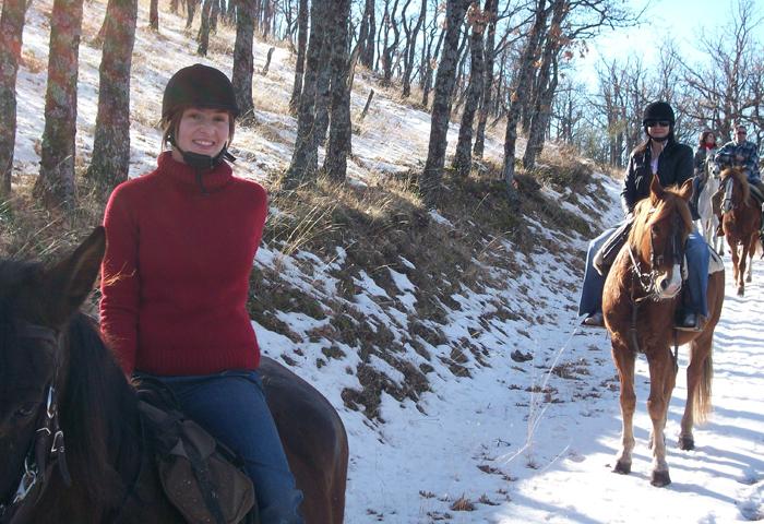 horseback riding routesby the lozoya valley