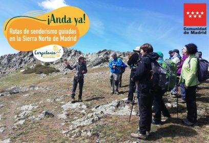 ANDA NOW! Guided hiking trails in the Sierra Norte de Madrid.