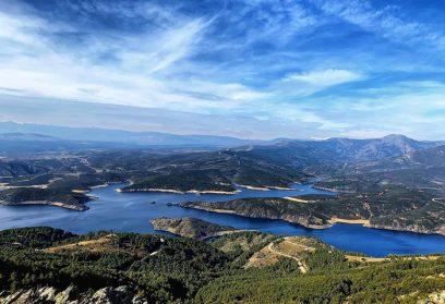 Hiking in the Sierra Norte de Madrid. Red local Carpetania II