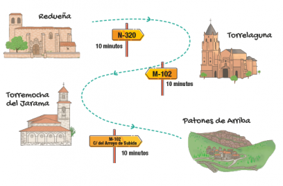Rutas en coche por la Sierra Norte de Madrid V